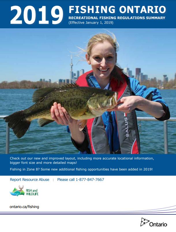2019 Ontario Fishing Regulations