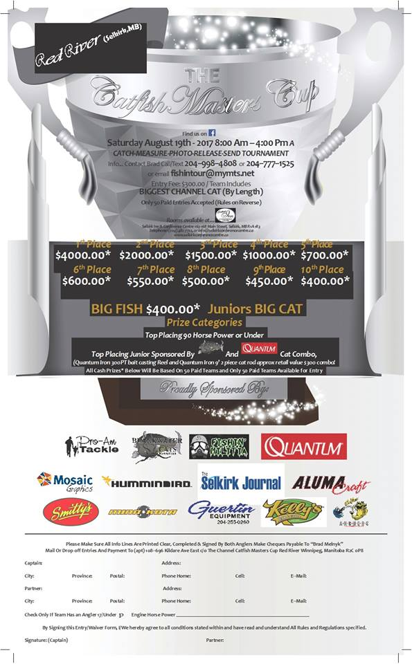Catfish Masters Cup poster