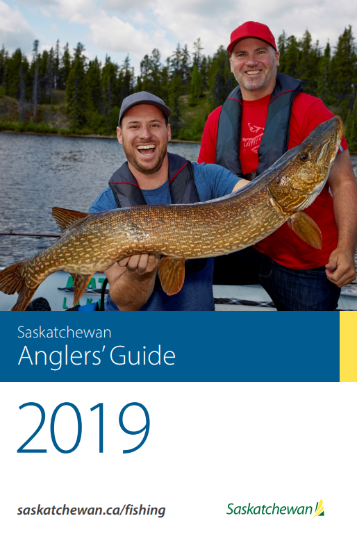 2019 Saskatchewan Anglers' Guide