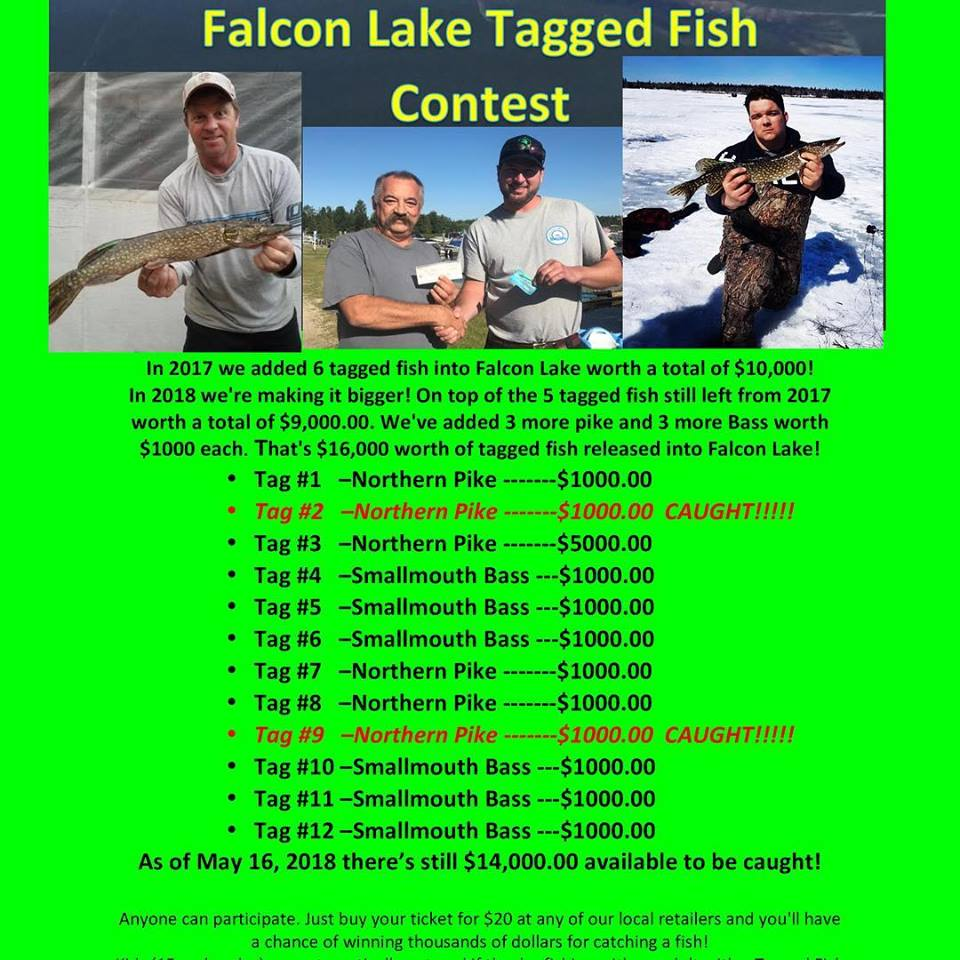 Tagged Fish Contest